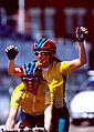 261000 - Cycling road Lynette Nixon Lyn Lepore celebrate 2 - 3b - 2000 Sydney race photo.jpg