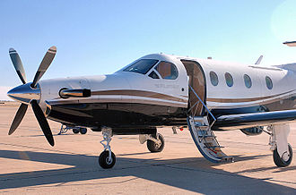 27th Special Operations Group - A PC-12 Pilatus parks on Cannon's flightline