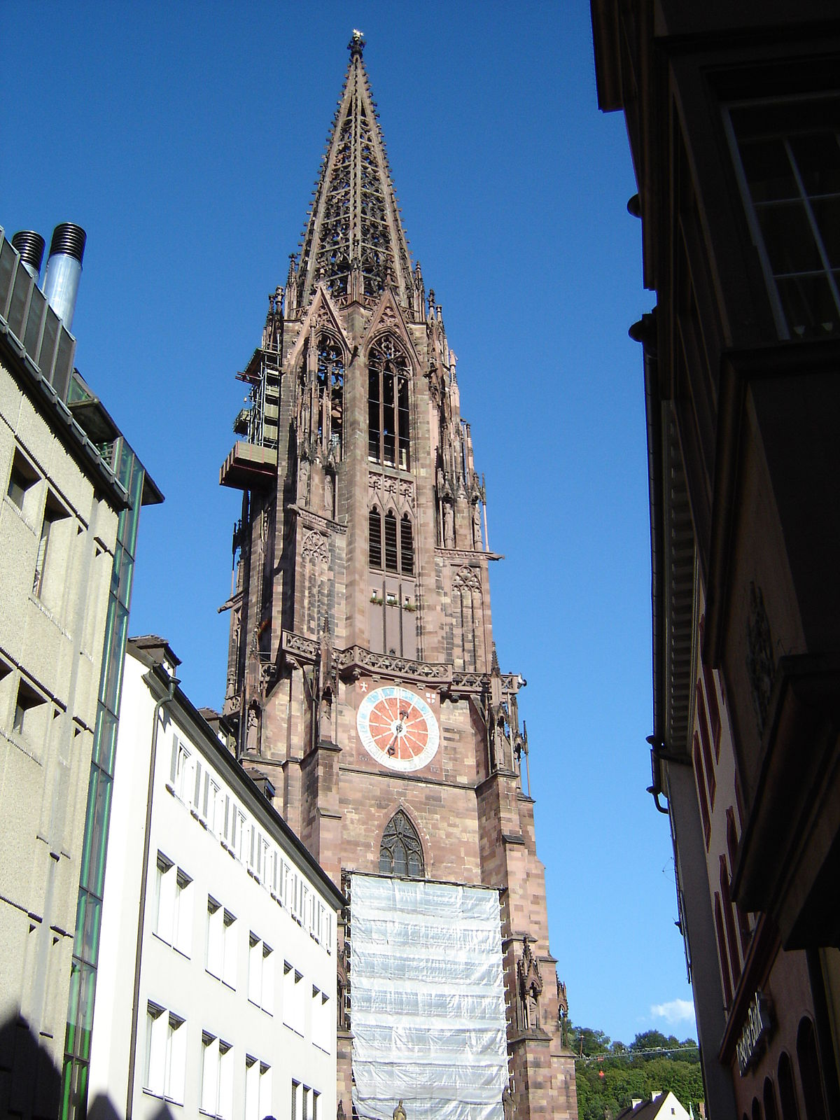 Freiburg minster wikipedia for Wohnwand 2 50 m
