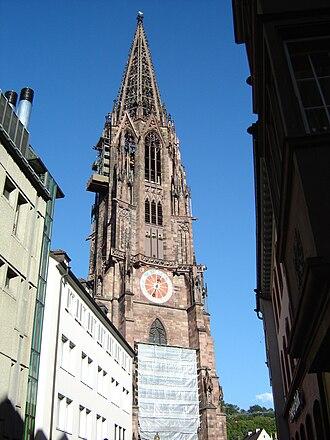 Freiburg Minster - Image: 2 Freiburger Münster