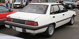 2nd generation Mitsubishi Galant Σ Turbo rear.jpg