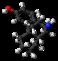 3-Hydroxymorphinan molecule ball.png