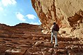 33 Ibex Canyon Lookout - The Trail Leads to Interesting Vistas - panoramio.jpg