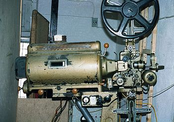 Cinemeccanica movie projector from circa 1950 ...