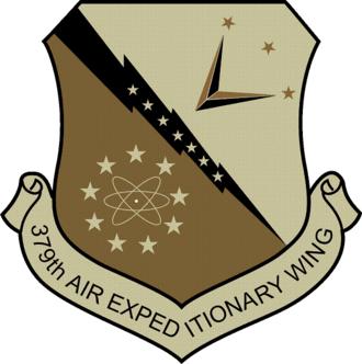 379th Air Expeditionary Wing - 379th Air Expeditionary Wing emblem