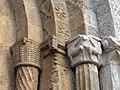 412 Sant Pere de Galligants (Girona), capitells del costat dret del portal.JPG