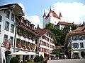 4197 - Thun - Schloss Thun over Rathausplatz.JPG