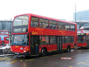 425 bus at Stratford Scania Omnidekka N94UD BV55 UCY - Flickr - sludgegulper.jpg