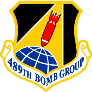 489th Bomb Group - Image: 489 Bomb Gp emblem