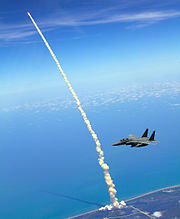 4th FW Strike Eagles assist shuttle launch
