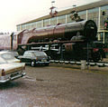 6229 Duchess of Hamilton steam locomotive Butlins Holiday Camp Minehead 14 August 1974.jpg