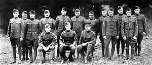 Connecticut Air National Guard - 639th Aero Squadron Officers and NCOs - 1918