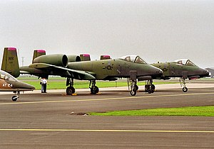 78th Attack Squadron - 78th TFS A-10As at RAF Bentwaters