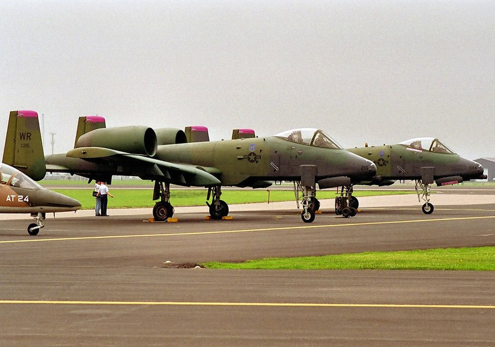 78th Tactical Fighter Squadron - Fairchild Republic A-10A Thunderbolt II - 80-0216