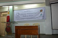 8th Waray Wikipedia Edit-a-thon 01.JPG