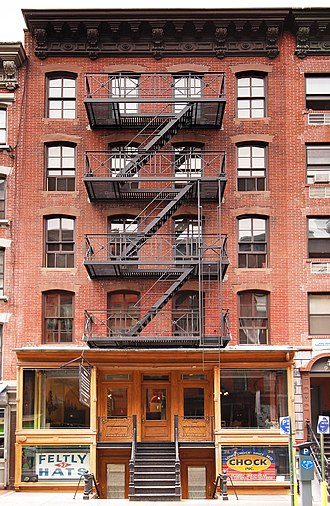Lower East Side Tenement Museum - Image: 97 Orchard Street Front