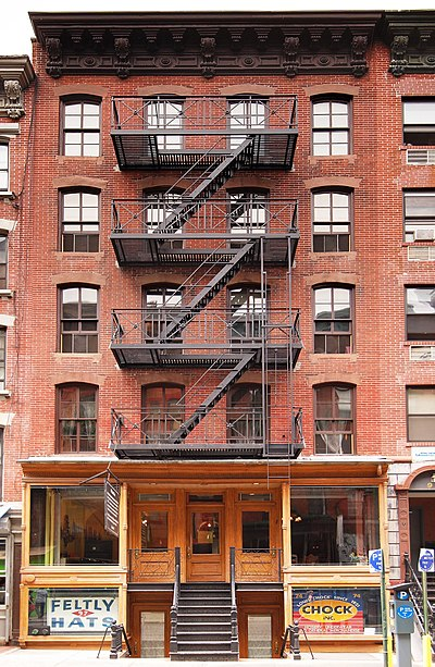 Lower East Side Tenement National Historic Site 97 Orchard Street Front.jpg