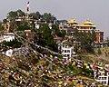 9 April 2010 detail, Thrangu Tashi Yangtse Monastery (cropped).jpg