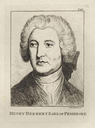 Henry Herbert, 9th Earl of Pembroke - The Earl of Pembroke