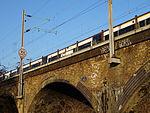 A.V. Roe 1877 - 1958 - Railway arches at Walthamstow Marsh Railway Viaduct (down side).jpg