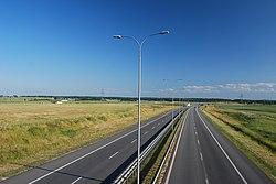 A1 w Swarozynie kierunek Lodz