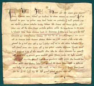 Przemysł II - Przemysł II allows to locate cities Gostyń and Brzezie on Magdeburg rights, a document from 1278.