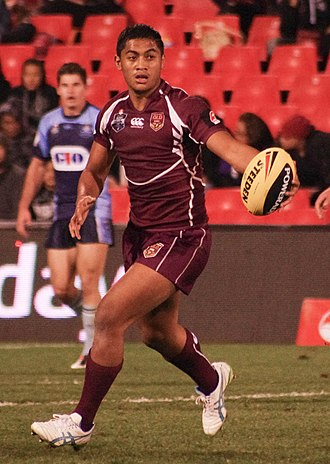 Anthony Milford - Milford playing for the Queensland Under 20s team in 2013