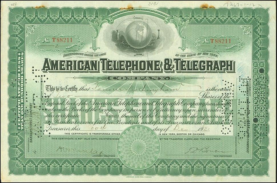 AT&T 1921