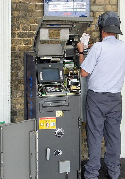 distributeur de monnaie