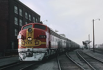 Chicagoan and Kansas Cityan - The Chicagoan at Wichita in 1967