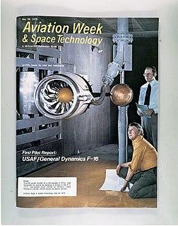 <i>Aviation Week & Space Technology</i> American magazine