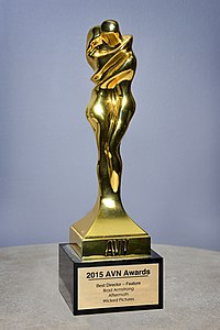 2014 AVN Awards Statuette