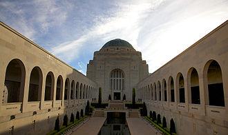 Military history of Australia - Image: AWM canberra 1