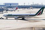 AZA A330-200 pushed back for R-W06R. (8096901241).jpg