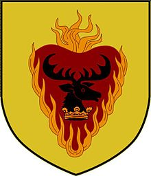 A Song of Ice and Fire arms of House Stannis Baratheon pixellated.jpg