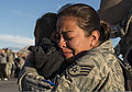 A U.S. Air Force staff sergeant hugs her son at Mountain Home Air Force Base, Idaho, Oct. 3, 2013, after returning from a six-month deployment to Southwest Asia 131003-F-WU507-130.jpg