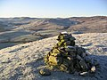 A cairn on Kirkhope Hill - geograph.org.uk - 298232.jpg
