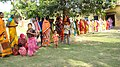 A long queue of women voters waiting their turns to caste the vote at Kanapukur, Bhagwangola polling booth in district Murshidabad, West Bengal during the 4th Phase of General Election-2009 on May 07, 2009.jpg