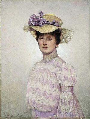 Asta Nørregaard - Self-portrait of Aasta Nørregaard