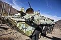 Abandoned Soviet BTR in Afghanistan.JPG