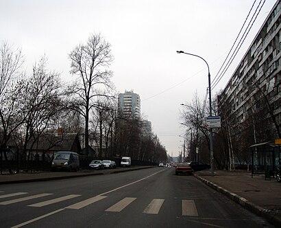 Come arrivare a Абрамцевская Улица con i mezzi pubblici - Informazioni sul luogo