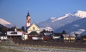 Absam - Image: Absam von Westen