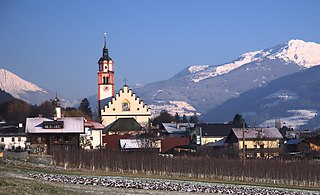 Absam Place in Tyrol, Austria