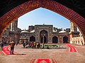 Abution pond in courtyard of Wazir Khan Mosque.jpg