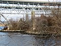 Abutment of former Thames River road bridge, December 2018.JPG