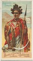 Abyssinian Spear, from the Arms of All Nations series (N3) for Allen & Ginter Cigarettes Brands MET DP828712.jpg