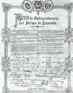 Independencia De Panamá Wikipedia La Enciclopedia Libre