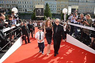 Karlovy Vary International Film Festival - Actor Harvey Keitel at the 50th Karlovy Vary IFF (2015)