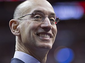 Commissioner of the NBA - Image: Adam Silver (15847004771)