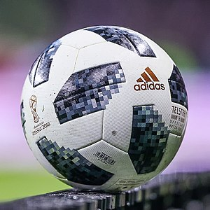 Adidas Telstar 18 in Russia vs. Argentina.jpg